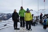 Podium Snowboarder